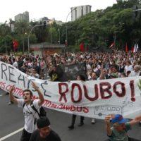 Contra o aumento das passagens em São Paulo!