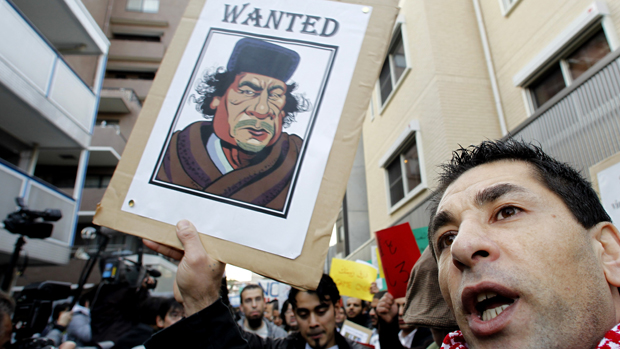 Revolta árabe: o presidente líbio, rumo ao precipício?
