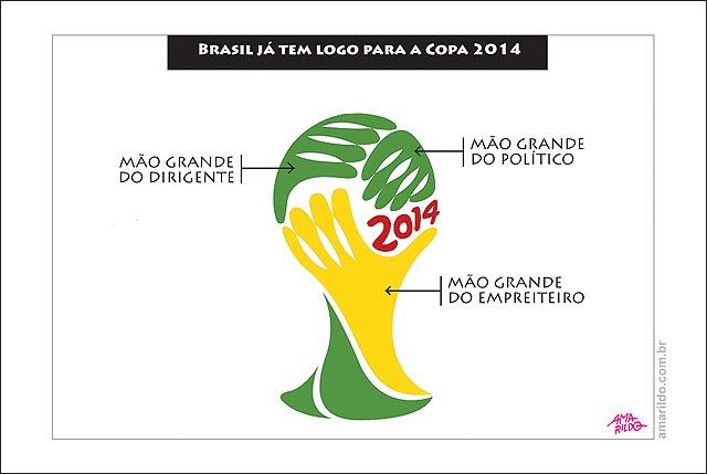 Copa do Mundo de 2014 será financiada quase que totalmente por dinheiro público