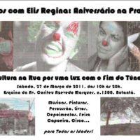 Sacolão Cultural e Aniversário da Elis Regina!