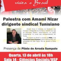 A Revolução Tunisiana visita o Brasil