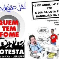 Estudantes da UERJ se mobilizam por Bandejão!