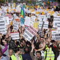 Mobilização na Espanha contra os políticos, empresários e banqueiros