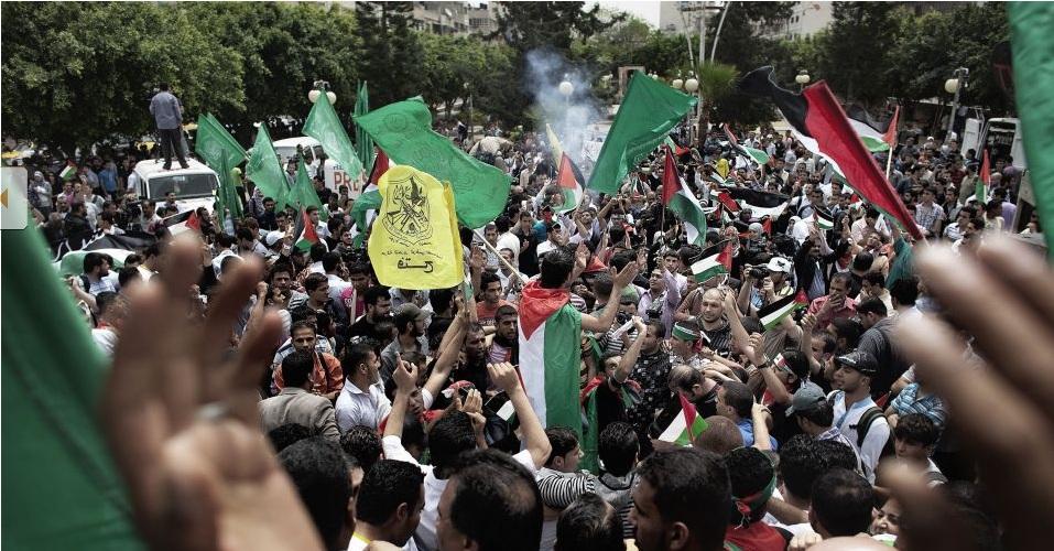 Palestinos reconciliados