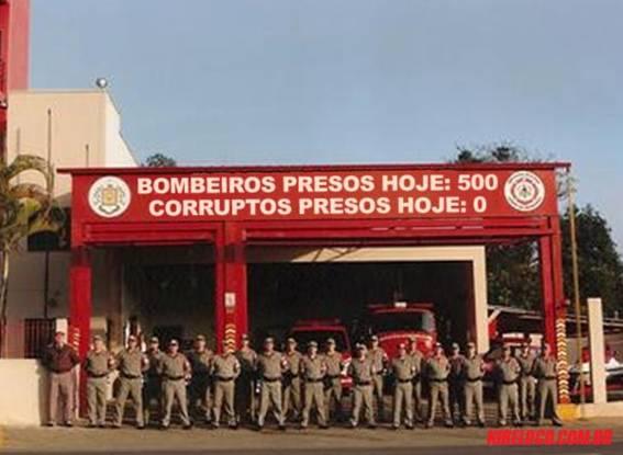 A importância da luta dos bombeiros do Rio de Janeiro