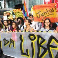 Juntos em São Paulo marchou por Liberdade