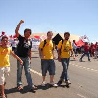 Marcha em Brasília em defesa da educação, saúde e reforma agrária!