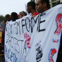 Quem tem fome protesta, ATO pelo bandejão da UERJ!