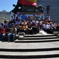 Porto Alegre mostra seus indignados ao mundo