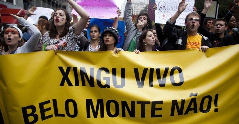 Juntos ao redor do mundo em defesa da Amazônia: Pare Belo Monte!