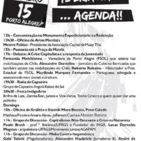 Programação do Juntos! no 15.O em Porto Alegre