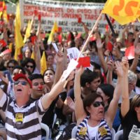 Movimento Estudantil mostra o seu lado na greve do magistério no RS
