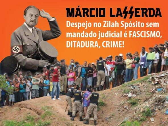 CARTA PARA MÁRCIO LACERDA! – Belo Horizonte