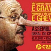 Greve da Educação gaúcha desmascara governo Tarso