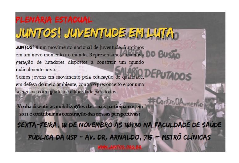 Plenária Juntos! SP