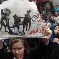 A luta das mulheres egípcias: contra a violência militar