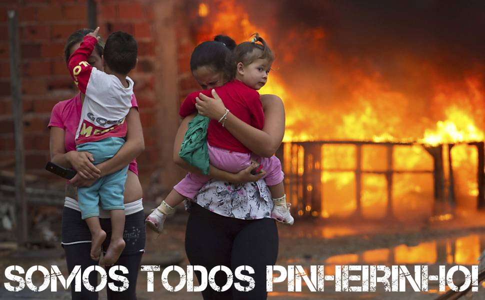 Nota do Juntos: A juventude brasileira está com Pinheirinho!