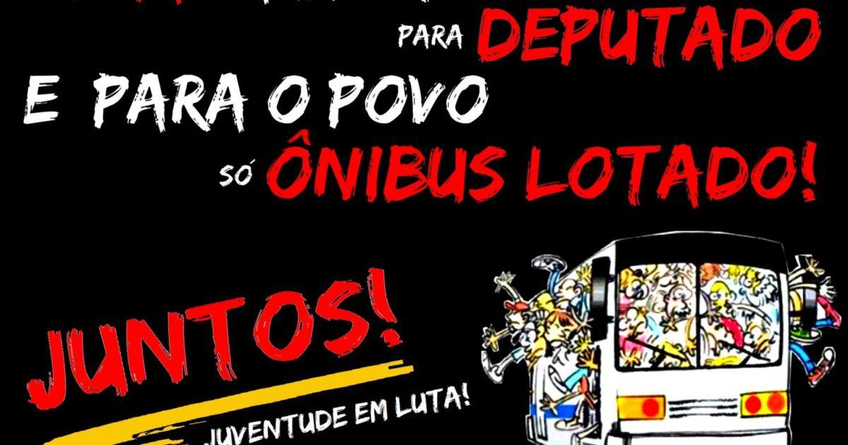 Nacionalizar a luta #ContraOAumento no país inteiro! Transporte público tem que ser gratuito!