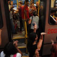 Catracaço marca o décimo-segundo dia de mobilização em Teresina