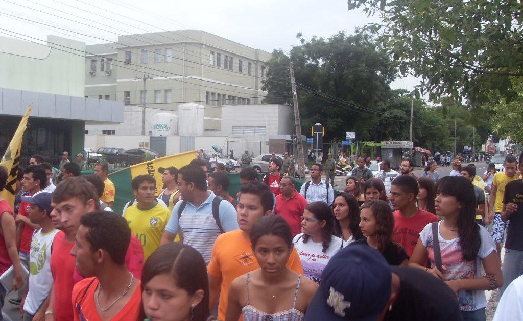 Indignados de Teresina-PI entram na terceira semana de manifestações
