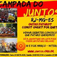 1º Acampada Juntos! RJ-MG-ES