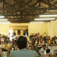 Primeiro dia da Acampada de Verão do Juntos! SP: a juventude reunida discute as causas da crise