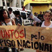 Juntos na luta pela educação em Minas Gerais