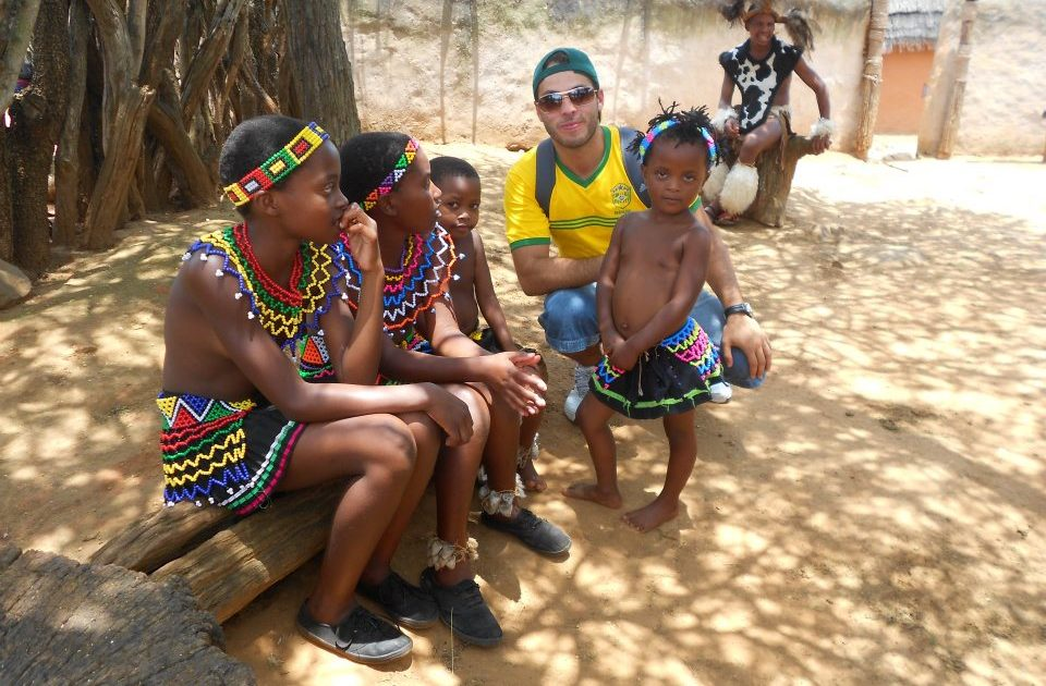 Juntos! na terra de Mandela