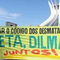 JUNTOS! Contra a Reforma do Código Florestal, Veta Dilma!