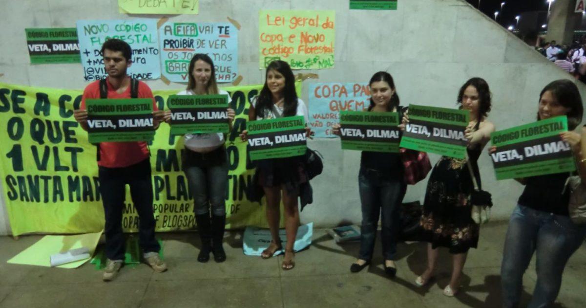 Juntos! e Comitê em Defesa das Florestas participam da Calourada da Paridade da UnB