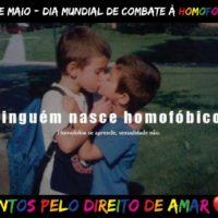 17 de maio: Por que lutar contra a homofobia?