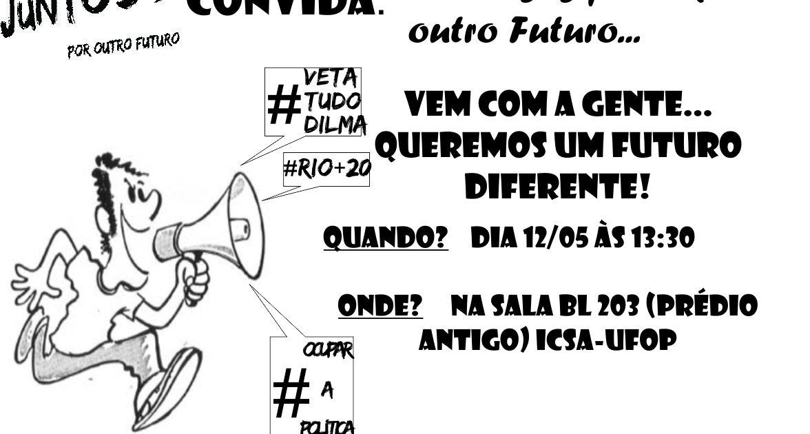 Juntos Mineiro convida: Conversas por um outro futuro… em Ouro Preto