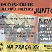 São Carlos convida: Plenária de Criação do Programa de Juventude!