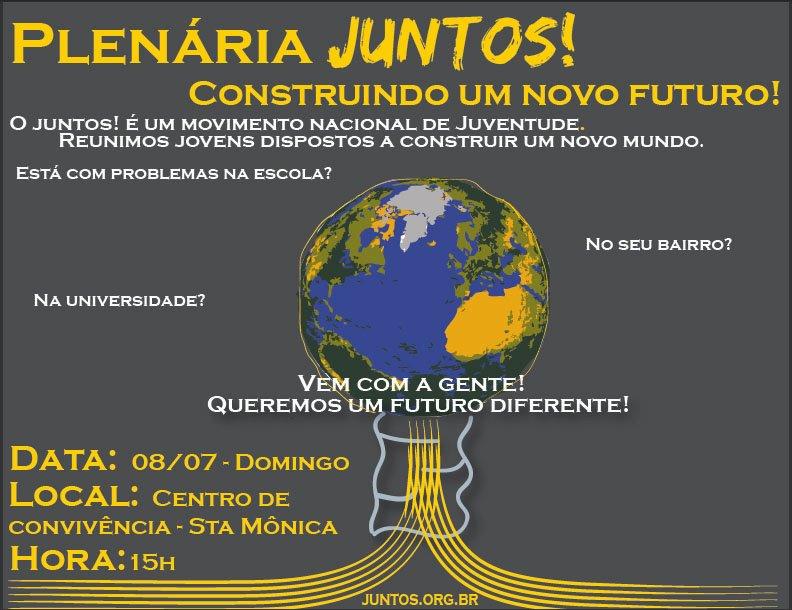 Plenária Juntos Uberlândia: Construindo um Outro Futuro