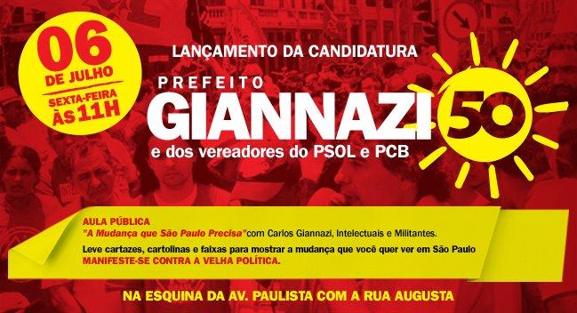Em São Paulo, estamos Juntos contra a velha política!