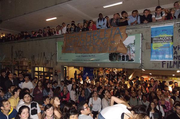 Nota do Juntos! em apoio à ocupação da reitoria e à greve dos estudantes na PUC-SP