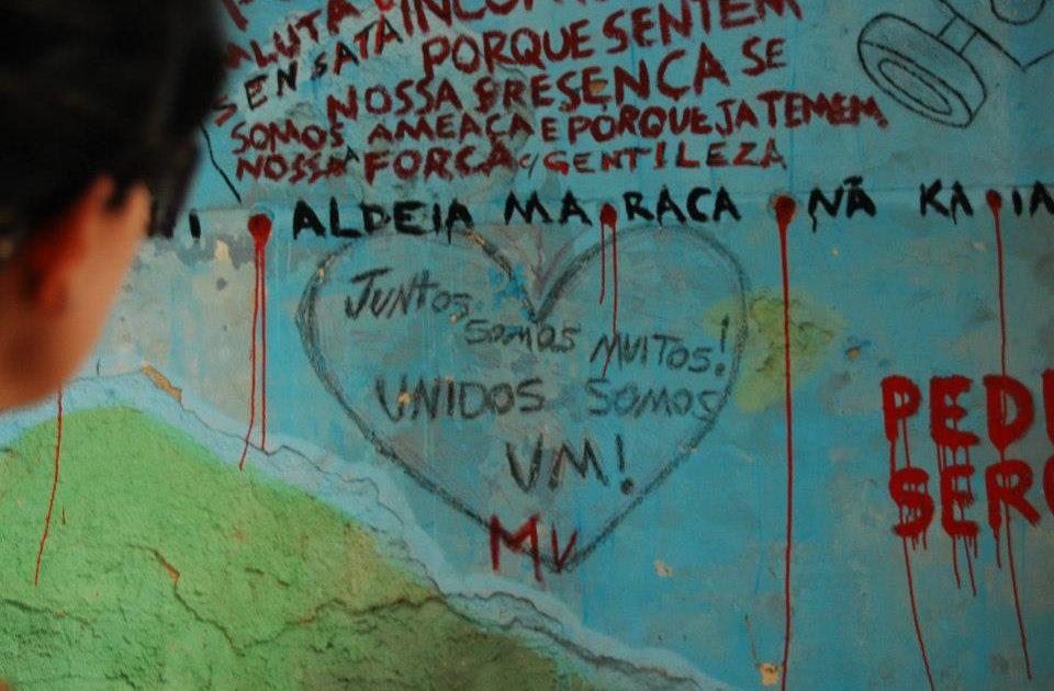 Aldeia Maracanã viva: Resistiremos Juntos!