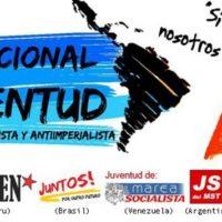 I Acampamento Internacional da Juventude Anticapitalista e Antiimperialista