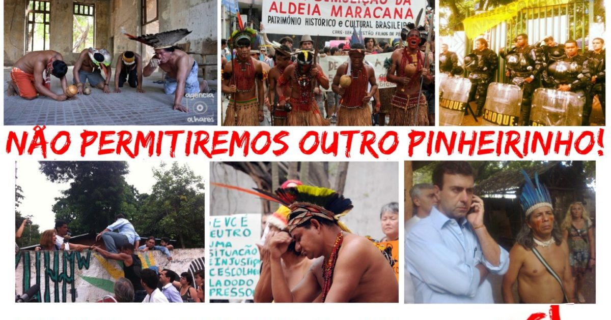 Juntos somos Aldeia Maracanã!