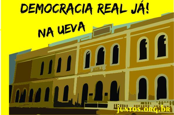 Juntos por Democracia Real Já na UeVA!