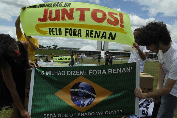 1,6 milhão de assinaturas contra Renan: hora de tomar as ruas!