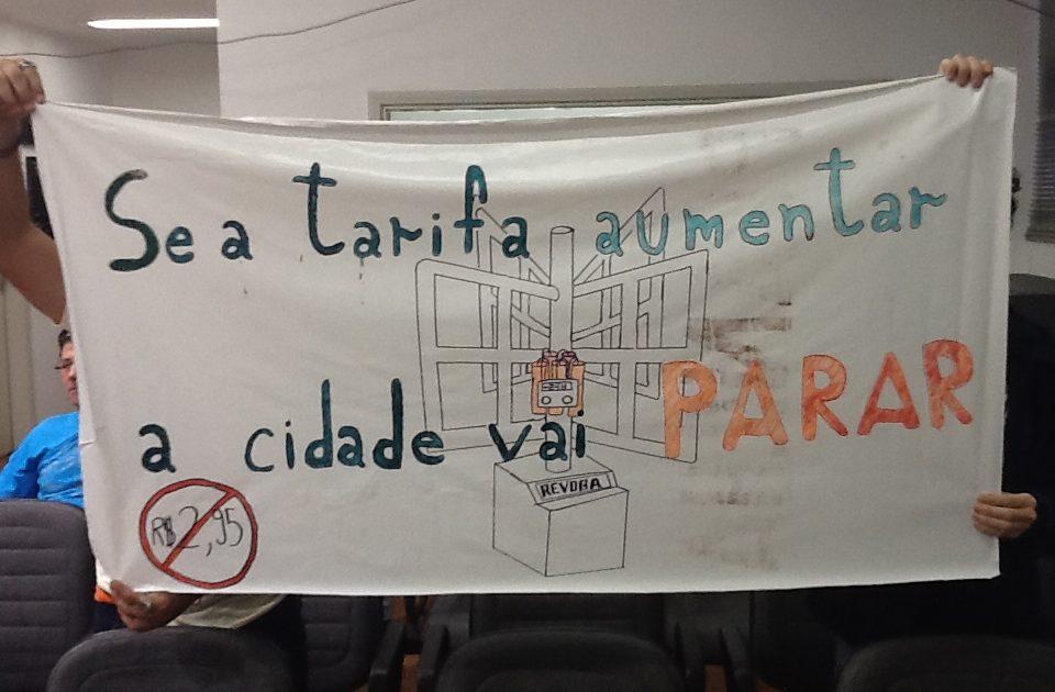 Se a passagem aumentar, São Paulo vai parar!