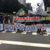 Fora Renan: Mais de 1 milhão contra o maior ladrão!