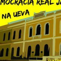 Química na luta por estrutura e Democracia Real Já!