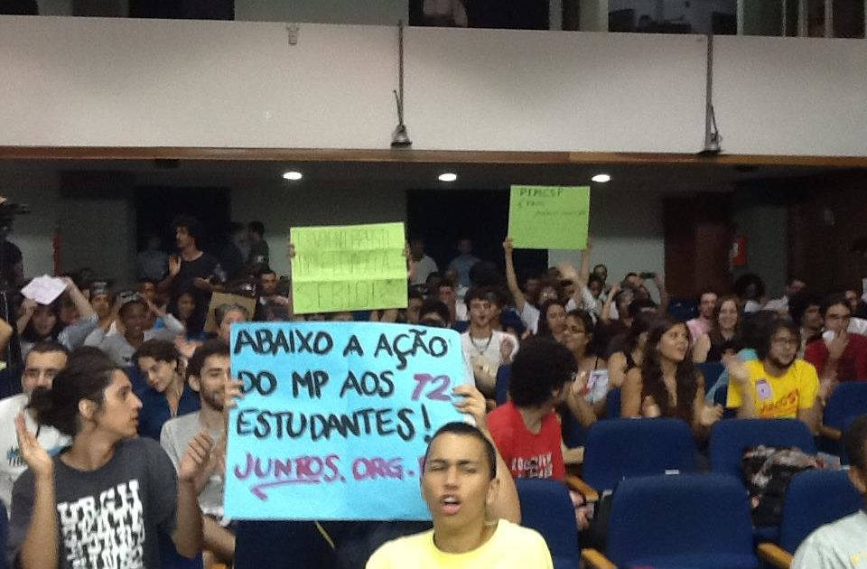 Movimentos sociais lotam a ALESP na Audiência Pública contra o PIMESP