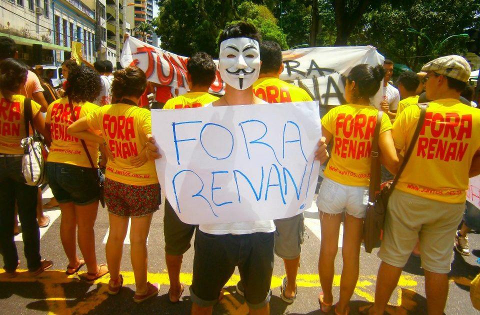 A juventude nas Ruas de Belém: #ForaRenan e #ForaFeliciano