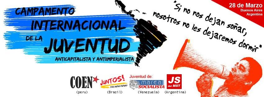 Circular de organização para o I Acampamento Internacional da Juventude