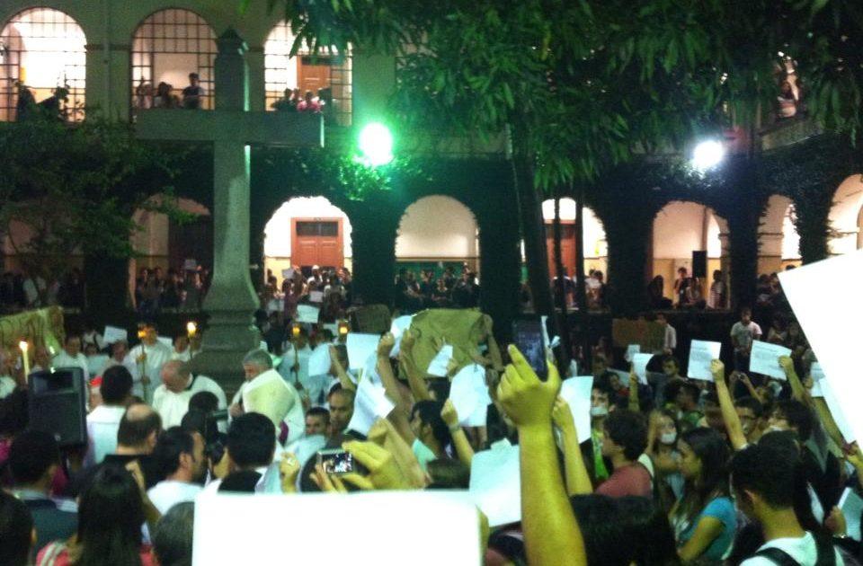 Na PUC-SP, segue forte a luta por democracia!