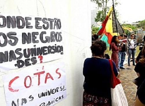 Para barrar o falso programa de cotas do governo tucano em São Paulo