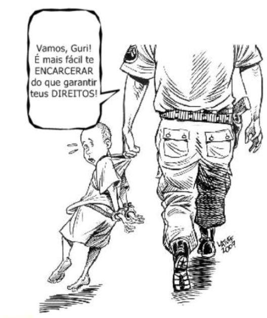 Contra a redução da maioridade penal. Por mais direitos para a juventude!